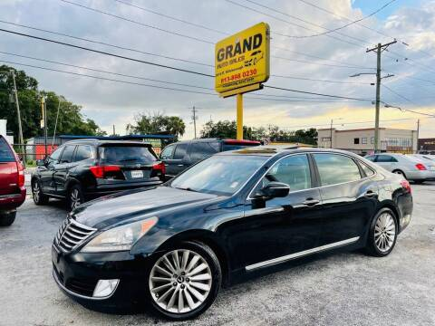 2014 Hyundai Equus for sale at Grand Auto Sales in Tampa FL