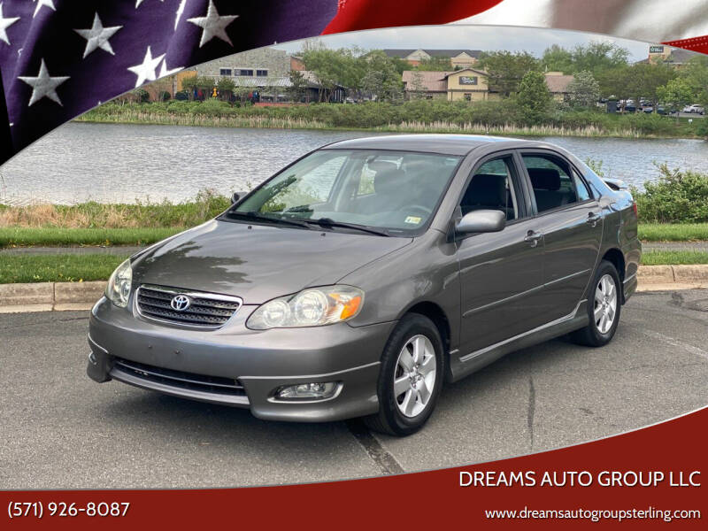 2007 Toyota Corolla for sale at Dreams Auto Group LLC in Sterling VA