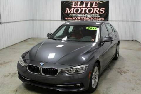 2017 BMW 3 Series for sale at Elite Motors in Uniontown PA