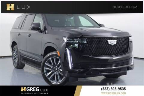 2021 Cadillac Escalade for sale at HGREG LUX EXCLUSIVE MOTORCARS in Pompano Beach FL