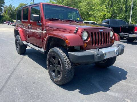2008 Jeep Wrangler Unlimited for sale at Luxury Auto Innovations in Flowery Branch GA