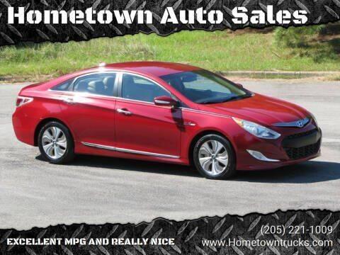 2013 Hyundai Sonata Hybrid for sale at Hometown Auto Sales - Cars in Jasper AL