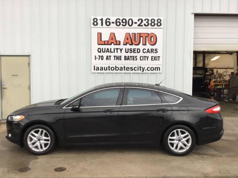 2013 Ford Fusion for sale at LA AUTO in Bates City MO
