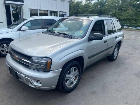 2005 Chevrolet TrailBlazer for sale at Vuolo Auto Sales in North Haven CT