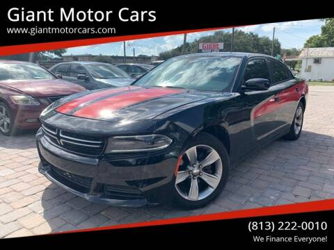 2015 Dodge Charger for sale at Giant Motor Cars in Tampa FL