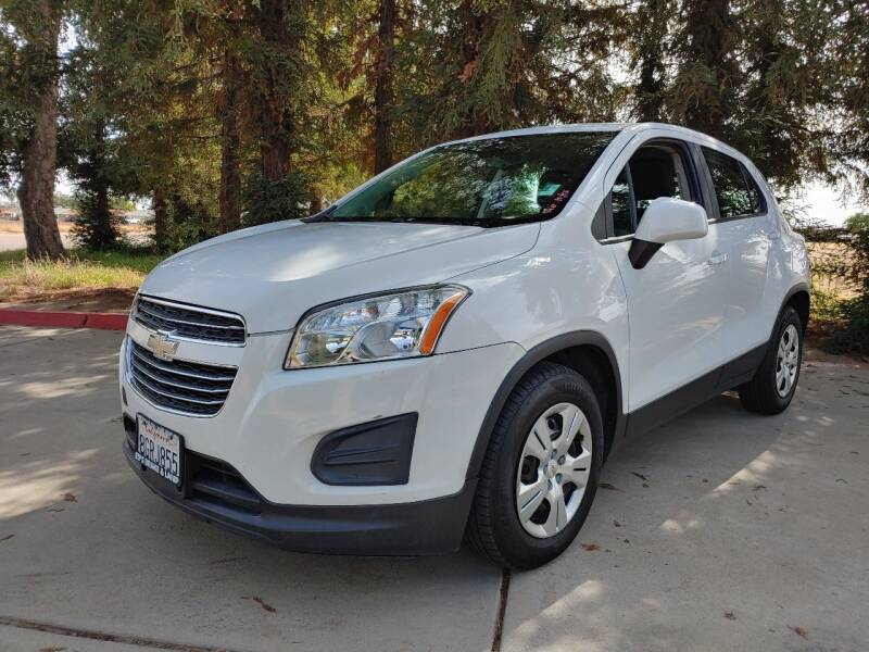 2016 Chevrolet Trax for sale at Gold Rush Auto Wholesale in Sanger CA
