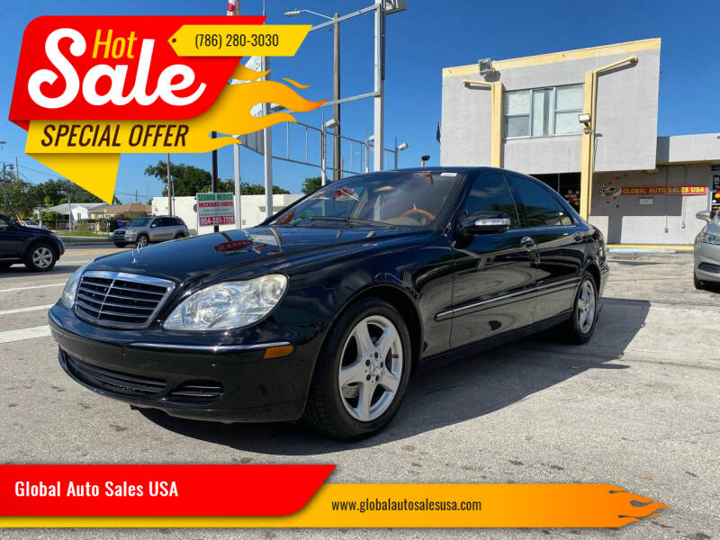 2004 Mercedes-Benz S-Class for sale at Global Auto Sales USA in Miami FL