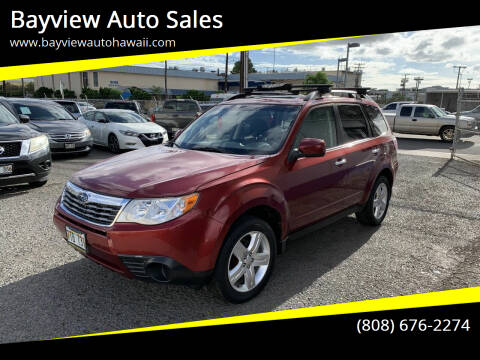 2009 Subaru Forester for sale at Bayview Auto Sales in Waipahu HI