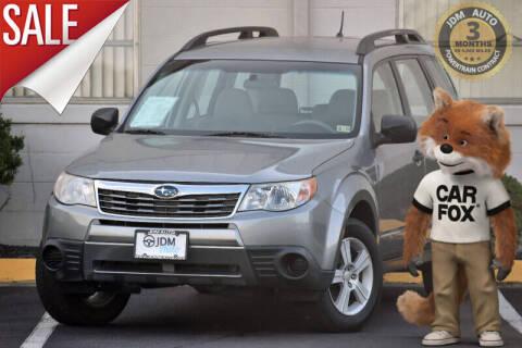 2010 Subaru Forester for sale at JDM Auto in Fredericksburg VA