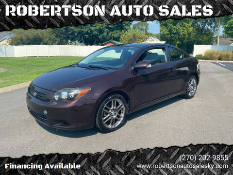 2010 Scion tC for sale at ROBERTSON AUTO SALES in Bowling Green KY