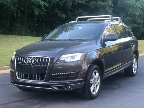 2010 Audi Q7 for sale at Top Notch Luxury Motors in Decatur GA