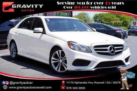 2014 Mercedes-Benz E-Class for sale at Gravity Autos Roswell in Roswell GA