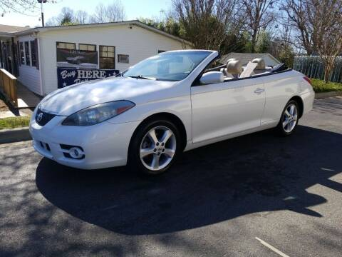 2007 Toyota Camry Solara for sale at TR MOTORS in Gastonia NC
