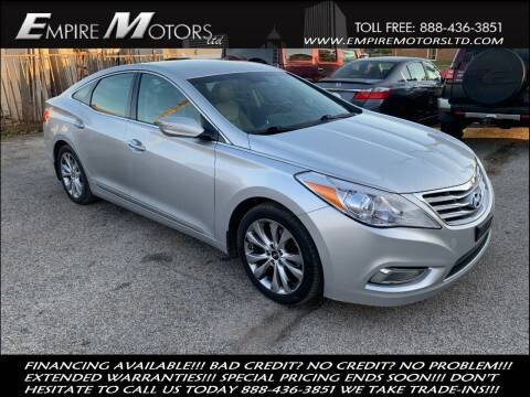 2013 Hyundai Azera for sale at Empire Motors LTD in Cleveland OH