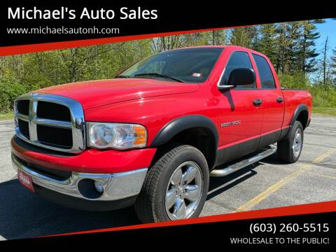 2005 Dodge Ram Pickup 1500 for sale at Michael's Auto Sales in Derry NH