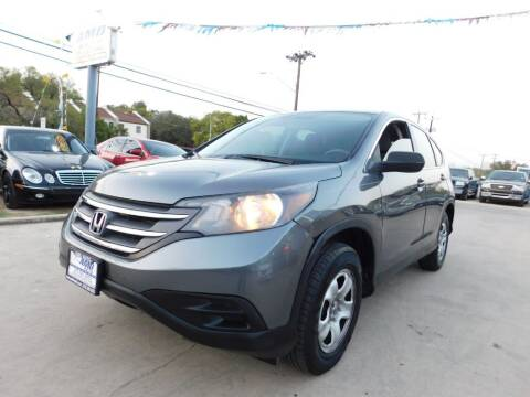 2012 Honda CR-V for sale at AMD AUTO in San Antonio TX