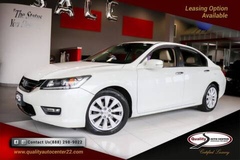 2015 Honda Accord for sale at Quality Auto Center in Springfield NJ