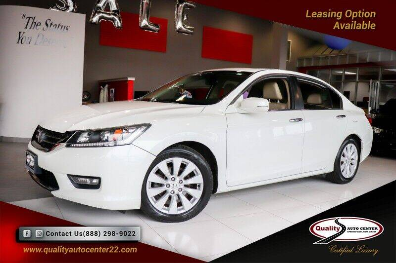 2015 Honda Accord for sale at Quality Auto Center of Springfield in Springfield NJ