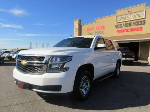 2015 Chevrolet Tahoe for sale at Import Motors in Bethany OK