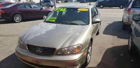 2002 Infiniti I35 for sale at TC Auto Repair and Sales Inc in Abington MA