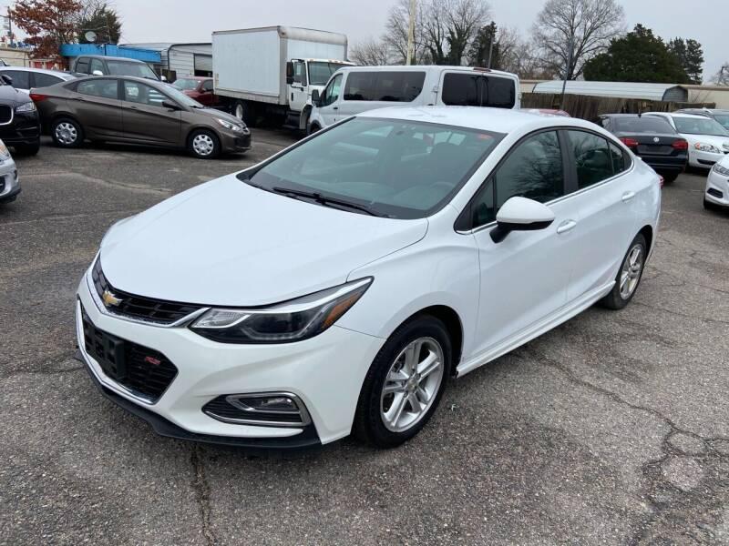 2017 Chevrolet Cruze for sale at Premium Auto Brokers in Virginia Beach VA