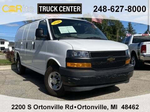 2018 Chevrolet Express Cargo for sale at Carite Truck Center in Ortonville MI