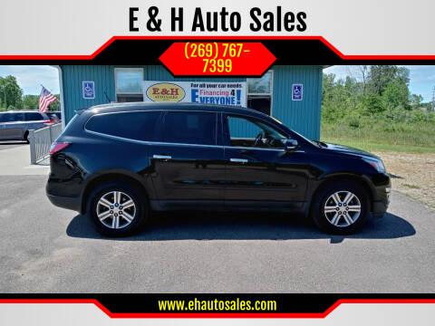 2017 Chevrolet Traverse for sale at E & H Auto Sales in South Haven MI
