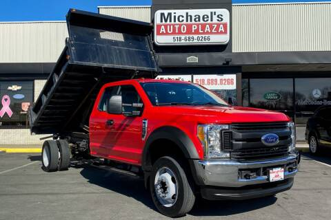 2017 Ford F-550 Super Duty for sale at Michaels Auto Plaza in East Greenbush NY