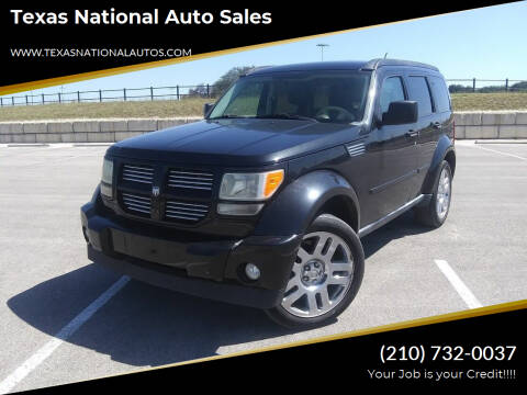 2010 Dodge Nitro for sale at Texas National Auto Sales in San Antonio TX