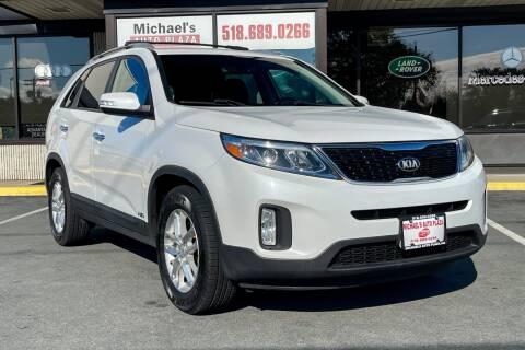2015 Kia Sorento for sale at Michael's Auto Plaza Latham in Latham NY