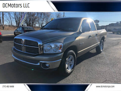 2008 Dodge Ram Pickup 1500 for sale at DCMotors LLC in Mount Joy PA