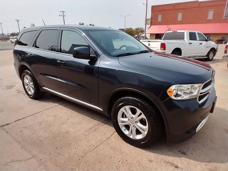 2013 Dodge Durango for sale at Apex Auto Sales in Coldwater KS