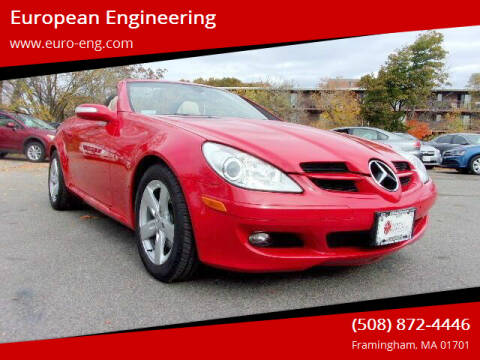 2006 Mercedes-Benz SLK for sale at European Engineering in Framingham MA