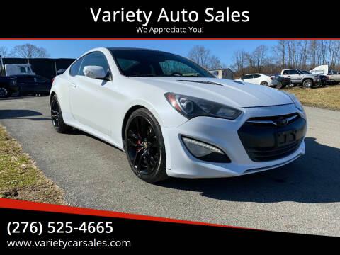 2013 Hyundai Genesis Coupe for sale at Variety Auto Sales in Abingdon VA