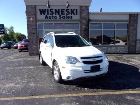 2014 Chevrolet Captiva Sport for sale at Wisneski Auto Sales, Inc. in Green Bay WI