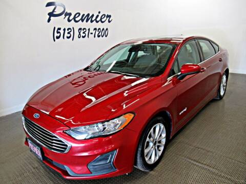 2019 Ford Fusion Hybrid for sale at Premier Automotive Group in Milford OH