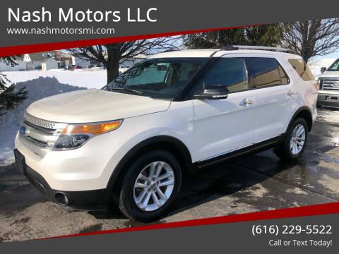 2015 Ford Explorer for sale at Nash Motors LLC in Hudsonville MI