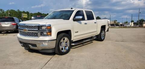 2014 Chevrolet Silverado 1500 for sale at WHOLESALE AUTO GROUP in Mobile AL