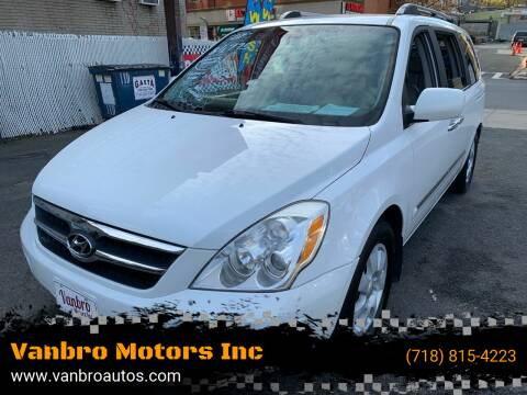 2007 Hyundai Entourage for sale at Vanbro Motors Inc in Staten Island NY