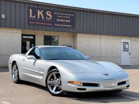 2000 Chevrolet Corvette for sale at LKS Auto Sales in Fresno CA