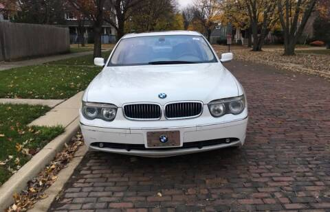 2003 BMW 7 Series for sale at RIVER AUTO SALES CORP in Maywood IL