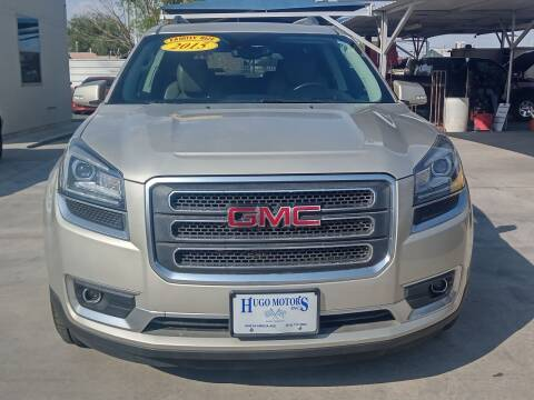 2015 GMC Acadia for sale at Hugo Motors INC in El Paso TX