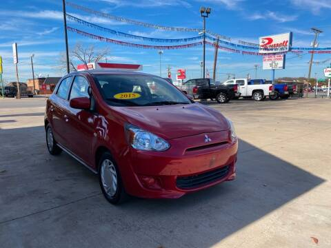 2015 Mitsubishi Mirage for sale at Russell Smith Auto in Fort Worth TX