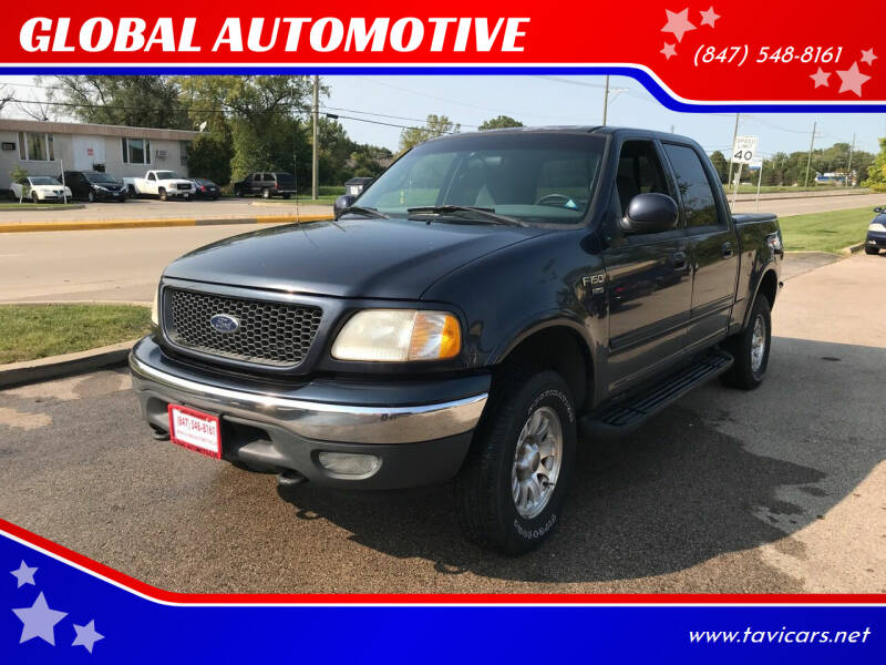 2001 Ford F-150 for sale at GLOBAL AUTOMOTIVE in Gages Lake IL