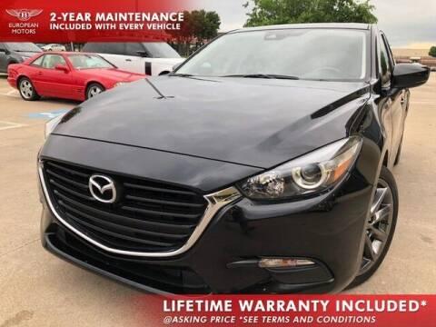 2018 Mazda MAZDA3 for sale at European Motors Inc in Plano TX
