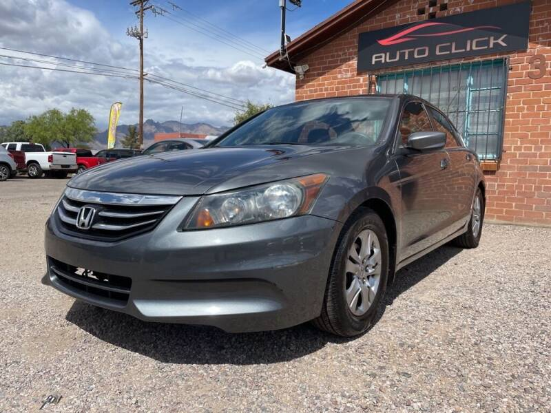 2011 Honda Accord for sale at Auto Click in Tucson AZ