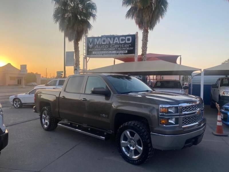 2014 Chevrolet Silverado 1500 for sale at Monaco Auto Center LLC in El Paso TX