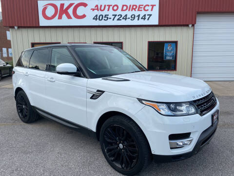 2015 Land Rover Range Rover Sport for sale at OKC Auto Direct, LLC in Oklahoma City OK
