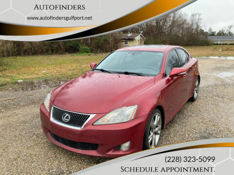 2010 Lexus IS 250 for sale at Autofinders in Gulfport MS