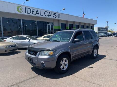 2007 Ford Escape Hybrid for sale at Ideal Cars in Mesa AZ